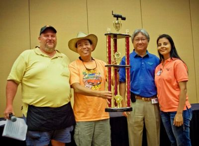 2012 1st Annual Pechanga BBQ Championship TOY Grand Champion - Slap Yo' Daddy BBQ, Harry Soo (photo courtesy of Sean Rice)
